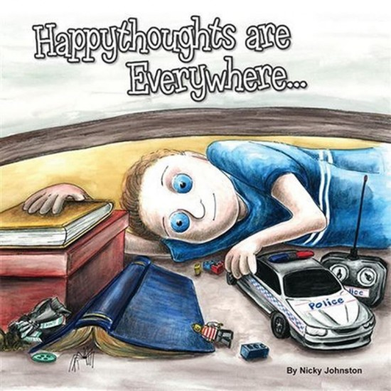 Happy Thoughts are Everywhere by Nicky Johnston